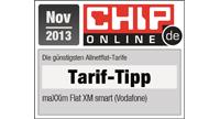 Chip.de Online Tarif-Tipp Nov. 2013